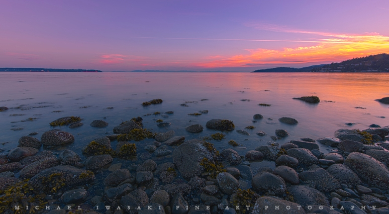 West Vancouver Sunset - Michael Iwasaki Fine Art Photography