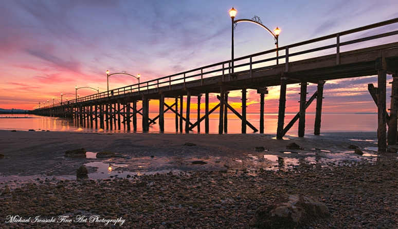 81 Pier At White Rock Sunset