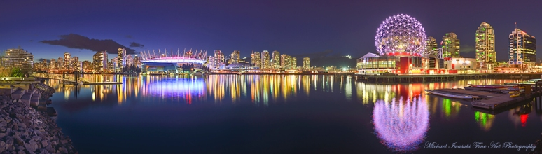 105 City Lights Pano From Athletes Village