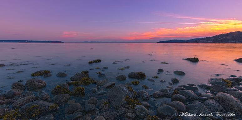 G003 Michael Iwasaki Fine Art Photography - Evening Sunset Light