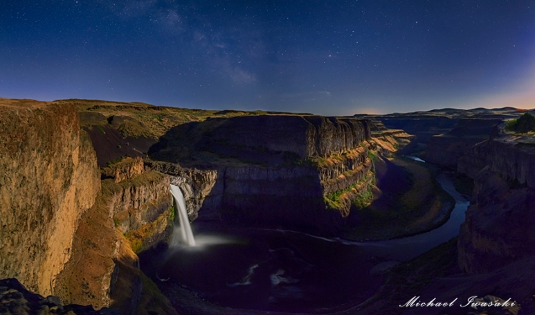 S001 - Palouse by Moonlight 34 x 20